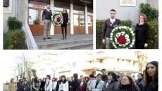 С ПОЛАГАНЕТО НА ВЕНЕЦ ЗАПОЧНАХА Полагането на венец пред бюст-паметника на Любен Каравелов беляза началото та тържествените прояви, посветени на 180-годишнината от рождението на бележития българин, който е патрон на...