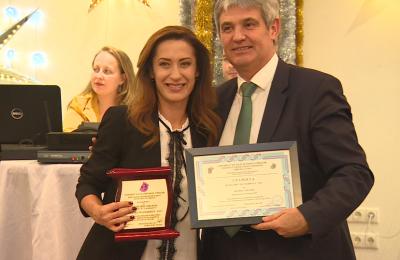 Bilyana Gavazova Jurnalist na godinata (1)