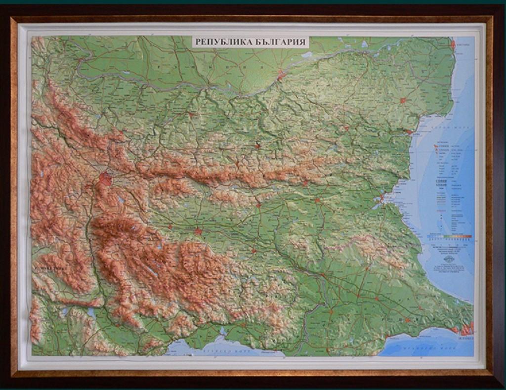 Novata Relefna Karta Na Blgariya Nessebar News Com