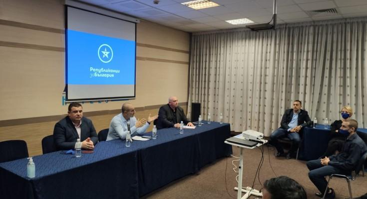 Цветан Цветанов и Павел Вълнев в Бургас (1) (1)