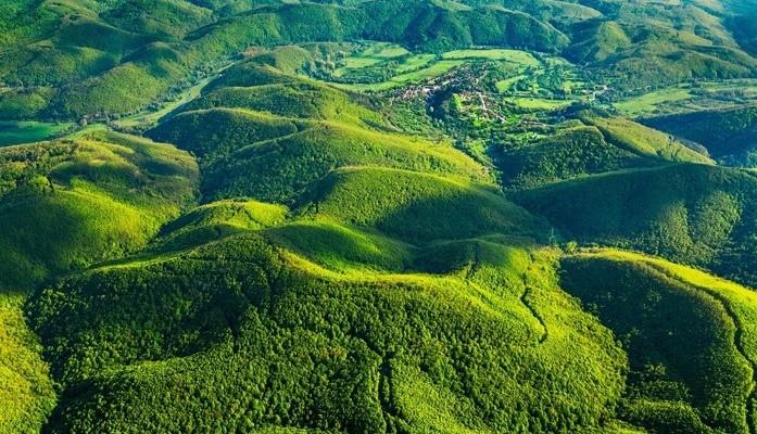 Въздушна снимка на Александър ИВАНОВ - поглед към долината на Велека. Публикуваме с разрешението на автора. (1)