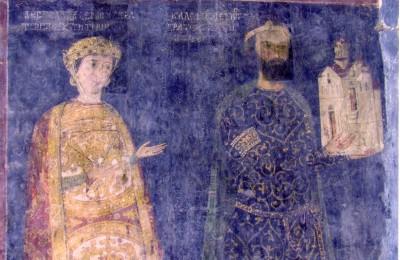 scan0089севастократор Калоян и съпругата Десислава от НМ Боянската църква