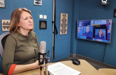 Д-р Джема Грозданова - Дарик радио (1)