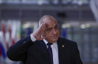 epa08714581 Bulgaria's Prime Minister Book Borissov arrives for the second day of a face-to-face EU summit since the COVID-19 outbreak, in Brussels, Belgium, 02 October 2020. During this Special European Council, EU leaders will discuss foreign affairs, in particular relations with Turkey and the situation in the Eastern Mediterranean. The leaders are also expected to address relations with China, the situation in Belarus and the poisoning of Russian opposition leader Alexei Navalny.  EPA/OLIVIER HOSLET / POOL
