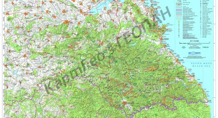 Карта на Странджа (1)