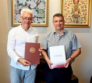 1. Инж. Панчев и проф. Димитров (отляво-надясно) (1)